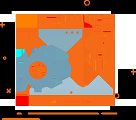 Ikona aktualizacja PrestaShop WebsiteGuru przedstawiająca komputer