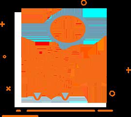 Ikona przedstawiająca wózek sklepowy dla sklepu internetowego