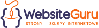 Logo w stopce firmy WebsiteGuru - Strony i Sklepy Internetowe Wadowice, Andrychów, Bielsko-Biała